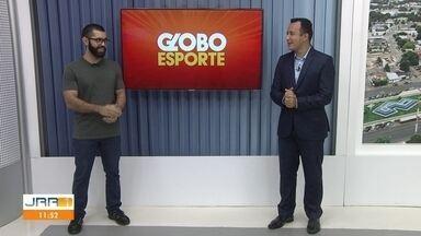 Veja a participação do Globo Esporte no JRR 1ª desta quarta-feira (5) - Acompanhe os destaques do mundo esportivo.