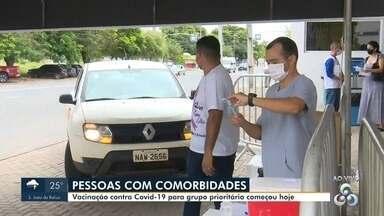 Pessoas com comorbidades já podem se vacinar em Boa Vista - Imunização na capital.