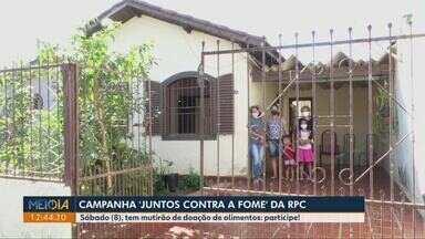 Sábado tem mutirão para coleta de alimentos da campanha Juntos contra a fome, em Londrina - Campanha da RPC vai arrecadar alimentos para família carentes.