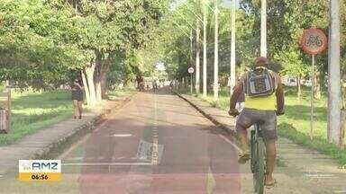 Ariquemes deve ganhar cerca de 3 quilômetros de ciclovias - Ciclovia será implantada na Av. JK.