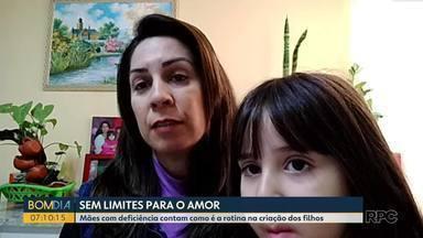 Mães com deficiência contam como é a rotina na criação dos filhos - A reportagem do Marcelo Rocha conta a história de três mães, que provam não ter limites para o amor e o cuidado com os filhos