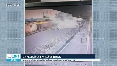 Vítima de explosão em lanchonete de Belém está com 70% do corpo queimado, relata familiar - Vítima de explosão em lanchonete de Belém está com 70% do corpo queimado, relata familiar