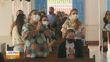 Famílias tiveram domingo do Dia das Mães com celebração da Santa Missa, em Macapá - Famílias tiveram domingo do Dia das Mães com celebração da Santa Missa, em Macapá