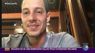Ao Vivo: Rodriguinho fala sobre jogo contra o Ceará e tetra da Copa do Nordeste - Confira o que diz o camisa 10 do Bahia, carinhosamente chamado de 'Reidriguinho' pela torcida tricolor.