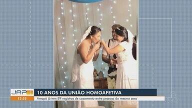 Reconhecidos há 10 anos, casamentos homoafetivos tem quase 90 registros no Amapá - Reconhecidos há 10 anos, casamentos homoafetivos tem quase 90 registros no Amapá