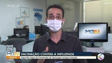 Idosos e professores podem se vacinar contra gripe a partir de terça-feira em Juiz de Fora - A segunda fase da campanha de vacinação contra a gripe começa nesta semana. Veja informações.
