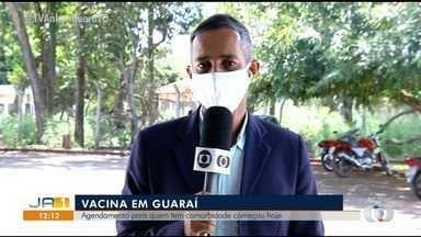 Guaraí faz agendamentos para vacinar pessoas com comorbidades - Guaraí faz agendamentos para vacinar pessoas com comorbidades