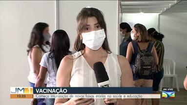 Vacinação contra a covid-19 continua em São Luís - Começa imunização de novas faixas etárias na saúde e educação.