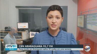 Barreiras sanitárias de Araraquara identificam 50 pessoas com Covid-19 - Veja as informações com Ingrid Sá, da CBN.