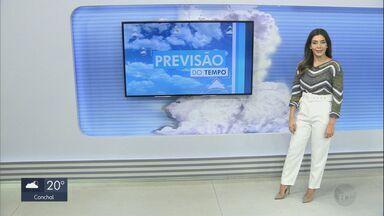 Confira a previsão do tempo para São Carlos e região nesta terça-feira - Confira a previsão do tempo.