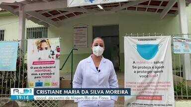 Moradores de Rio das Flores, infectados com covid, estão descumprindo a quarentena - Período de 14 dias em isolamento não está sendo respeitado. Alerta foi feito pela própria prefeitura.