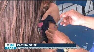 Piauí não atinge meta da vacinação contra gripe - Piauí não atinge meta da vacinação contra gripe