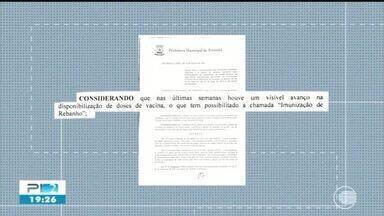 Prefeitura de Teresina flexibiliza funcionamento de bares e imunização de rebanho - Prefeitura de Teresina flexibiliza funcionamento de bares e imunização de rebanho