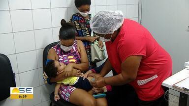Vacinação contra a gripe continua ocorrendo em Sergipe - Vacinação contra a gripe continua ocorrendo em Sergipe.