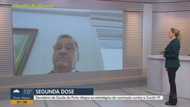 Secretário de Saúde de Porto Alegre fala sobre estratégias de vacinação contra a Covid-19 - Assista ao vídeo.