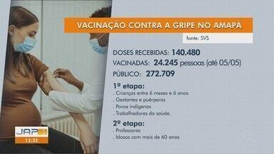 Vacinação contra a gripe tem baixa procura no Amapá e passa a atender idosos e professores - Vacinação contra a gripe tem baixa procura no Amapá e passa a atender idosos e professores