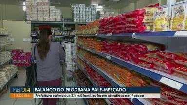 Vale-mercado em Ponta Grossa: 2,8 mil famílias foram atendidas na 1ª etapa - Novos cadastros serão feitos em 19 de maio.