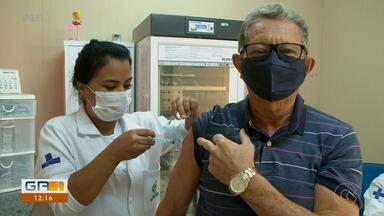 2º etapa da vacinação contra influenza começa em Petrolina - Parte da manhã na cidade foi marcada por idas e vindas aos postos, falta de informações e algumas pessoas não conseguiram tomar a vacina contra a gripe.
