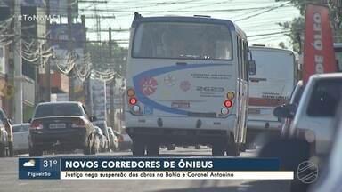 Justiça nega suspensão das obras nas ruas Bahia e Coronel Antonino - MS1 Campo Grande