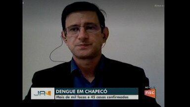 Dengue em Chapecó - Cidade registra mais de mil focos e 45 casos confirmados