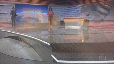 Bom dia Brasil - Edição de 12/05/2021 - O telejornal, com apresentação de Chico Pinheiro e Ana Paula Araújo, exibe as primeiras notícias do dia no Brasil e no mundo e repercute os fatos mais relevantes.