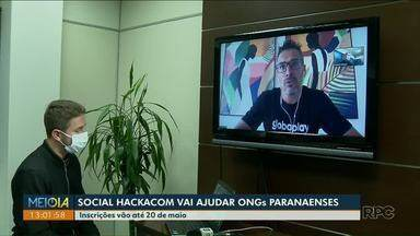 Social Hackacom vai ajudar ONGs paranaenses - Inscrições vão até 20 de maio.
