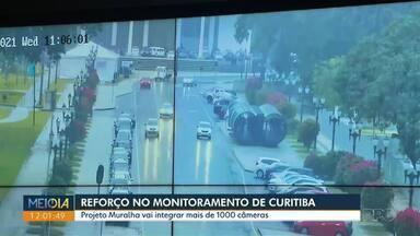 Projeto Muralha vai integrar mais de 1000 câmeras por escolas, ruas e praças de Curitiba - Na terceira fase da Muralha Digital, a previsão é integrar câmeras de segurança particulares dentro do projeto