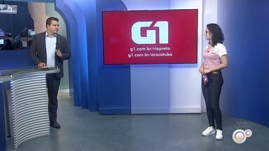 Heloísa Casonato traz os destaques do G1 Rio Preto e Araçatuba - Heloísa Casonato traz os destaques do G1 Rio Preto e Araçatuba no TEM Notícias desta sexta-feira (14).