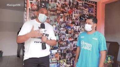 Preto Zezé mostra ação de solidariedade a comunidades cearenses - Presidente da CUFA vira repórter por 1 dia do Se Liga VM