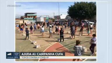 """Ajuda Aí: CUFA faz campanha """"Todos contra a covid-19"""" - Trabalho começou ano passado e doações diminuíram agora em 2021."""