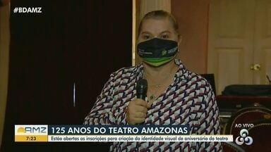 Concurso vai escolher nova identidade visual para comemorar 125 anos do Teatro Amazonas - Veja como participar.