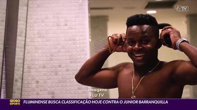 Fluminense deve fazer mudanças para enfrentar o Junior Barranquilla pela Libertadores - Fluminense deve fazer mudanças para enfrentar o Junior Barranquilla pela Libertadores