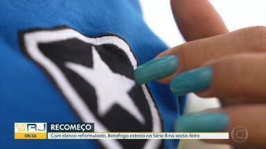 Botafogo tenta se reerguer e voltar à primeira divisão do Brasileiro - Time vai jogar a segundona com a folha salarial reduzida e com treze reforços, mas nenhum engrenou até agora na temporada