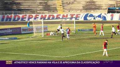 Athletico vence Paraná Clube na Vila Capanema - Com uma equipe mista, o Athletico venceu o Paraná no jogo de ida das quartas de final do Campeonato Paranaense. Um dos gols foi bem bizarro. Apesar desse gol, tudo normal, não fosse o fato de que não há data para o jogo da volta