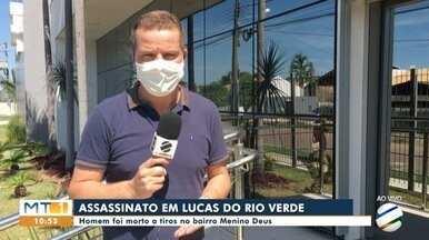 Homicídio em Lucas do Rio Verde está sendo investigado - Delegado Eugênio Rudy explica como está sendo conduzido o inquérito