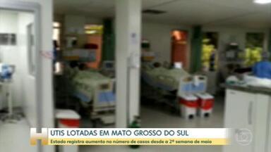 Mais de 200 pessoas esperam por um leito em Mato Grosso do Sul - Pacientes estão na fila por leitos clínicos e de UTI.