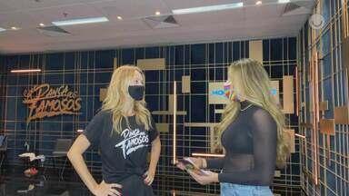 Juliana Didone relembra estreia em 2006 no 'Dança dos Famsoso' e compara a de agora - Confira!