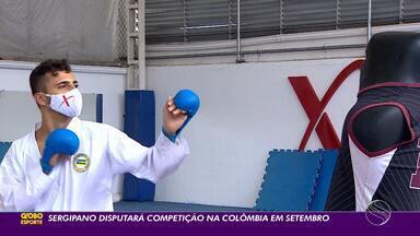 André dos Santos se prepara para Pan Júnior de Karatê - Competição está prevista para acontecer no mês de setembro, na Colômbia.