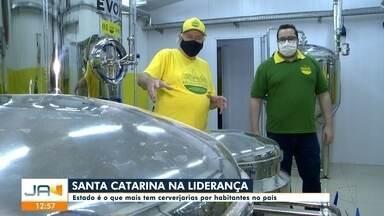 Santa Catarina é o estado que mais tem cervejarias por habitantes no país - Santa Catarina é o estado que mais tem cervejarias por habitantes no país