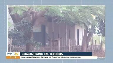 Moradores de chácaras em Terenos reclamam de insegurança - PM diz que não há previsão de instalar posto, mas que vai atender denúncias
