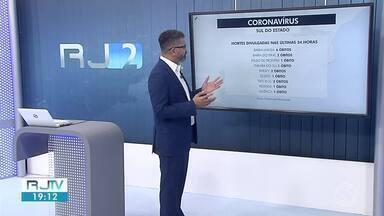 RJ2 atualiza os números de mortes e casos confirmados de Covid-19 na região - Confira os balanços divulgados pelas prefeituras nesta terça-feira.