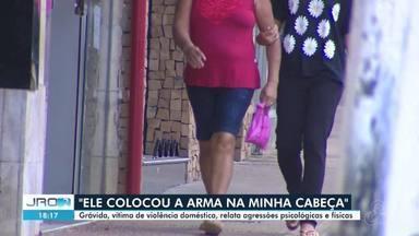 Moradora de Ji-Paraná relata violência doméstica durante gravidez - Filha da mulher, de 15 anos, também foi agredida.
