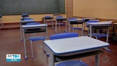 Volta às aulas presenciais na rede estadual divide opiniões - Volta às aulas presenciais na rede estadual divide opiniões.
