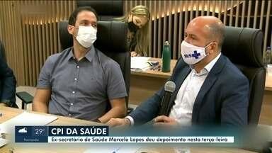 Ex-titular da Sesau, Marcelo Lopes presta depoimento na CPI da Saúde - Ex-secretário foi questionado sobre pagamentos indevidos à médicos, durante reunião da CPI na ALERR nesta terça-feira (25).