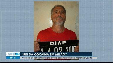 Traficante italiano deixa a Paraíba após ser preso pela Interpol - Objetivo era fixar residência em João Pessoa.