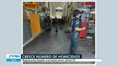 Em RR, número de homicídios cresce devido disputas entre facções, aponta Polícia Civil - Dados são da Delegacia Geral de Homicídios (DGH).