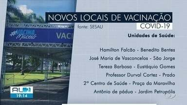 Corujão da vacina começa a funcionar em mais dois pontos de Maceió, mas falta imunizante - Muita gente teve que voltar pra casa porque a vacina da Pfizer acabou.