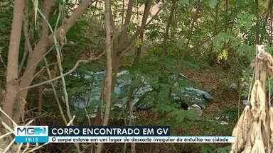 Corpo de homem é encontrado à margem da BR-116, em Governador Valadares - Segundo a Polícia Militar, ele estava coberto por um lençol e só foi localizado por causa do cheiro forte.
