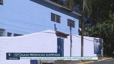 Pariquera-Açu suspende aulas presenciais em escola após casos de Covid-19 - Município é a segunda cidade da região do Vale do Ribeira que suspendeu aulas após registrar casos da doença.