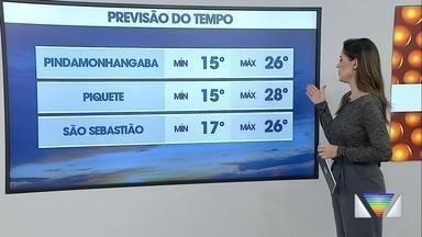 Confira previsão do tempo para esta quinta-feira - Temperaturas seguem amenas.